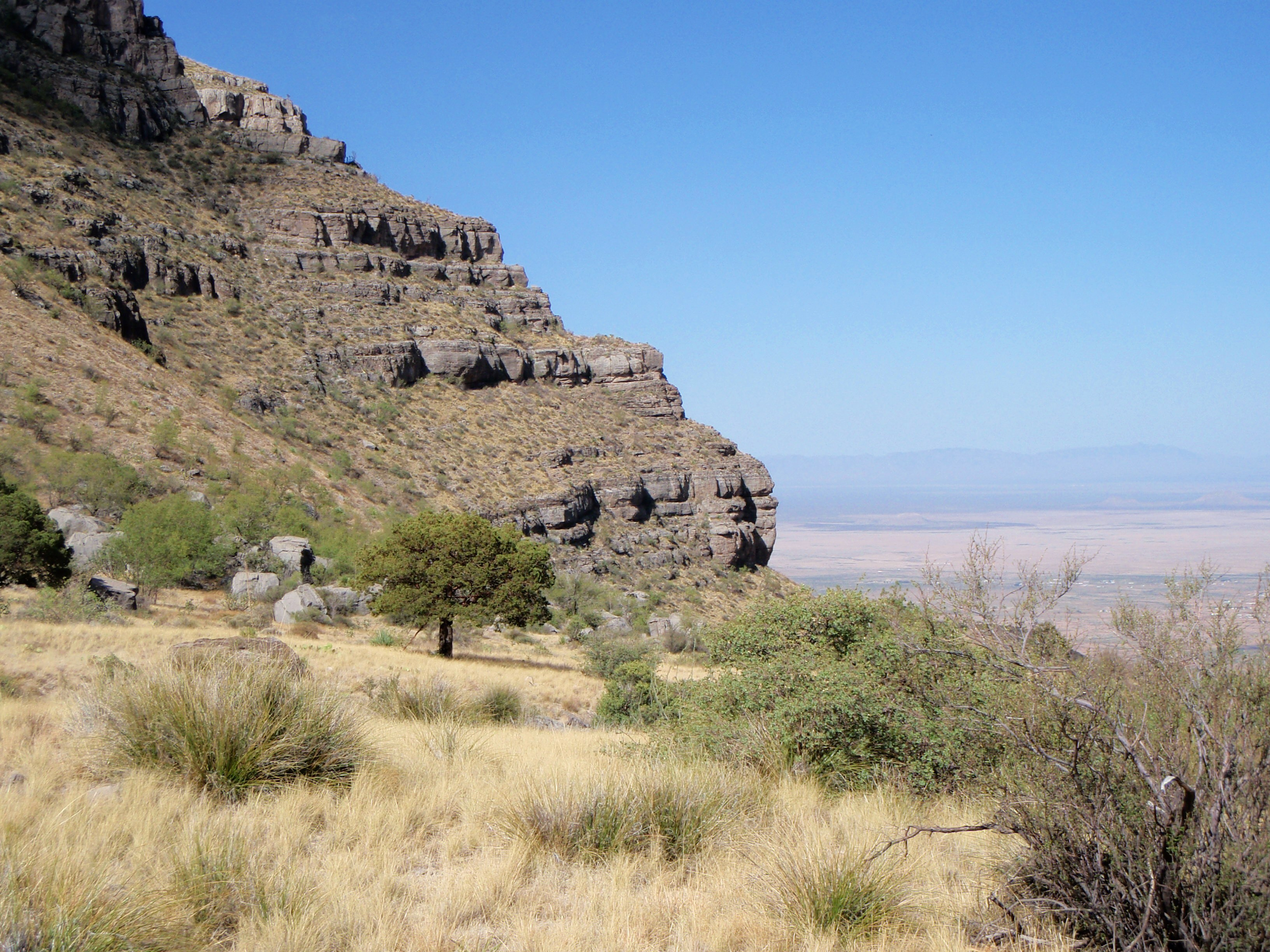 Dog canyon hike rivertop rambles - Definition d un plateau ...