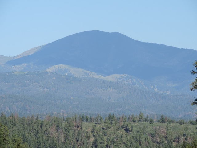 "Sierra Blanca, 12003', arguably ""highest mtn. in southern U.S."""