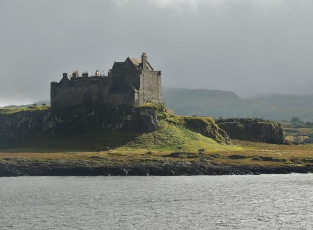 Mull Island castle
