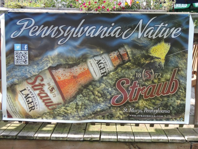 """Straub Beer is a big supporter of Slate Run's """"Brown Trout Club,"""" supplying German browns to the Delayed Harvest waters of Pine Creek at Slate Run..."""