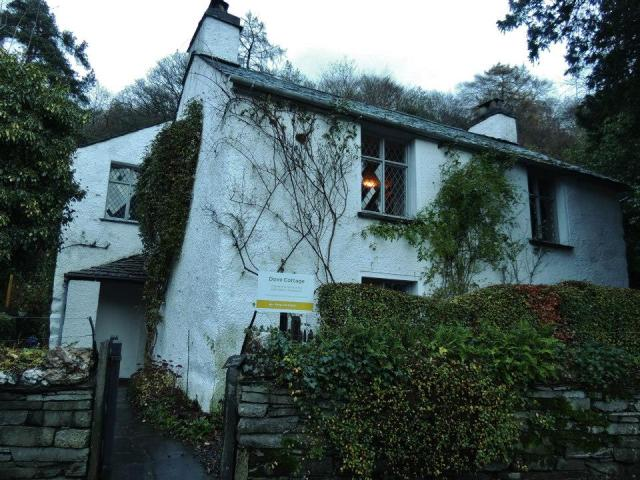 Dove Cottage, home of poet Wm. Wordsworth