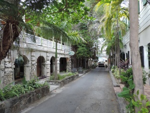 side street in Christiansted
