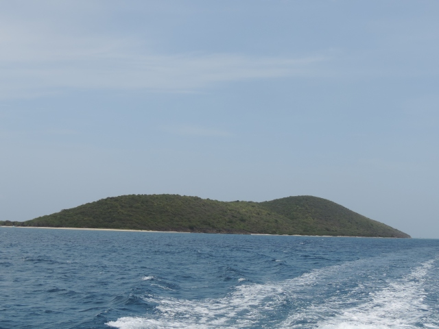 leaving Buck Island