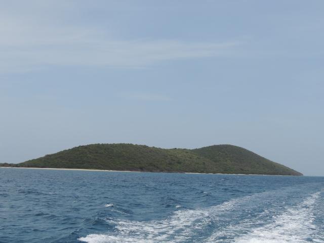 leaving Buck Island