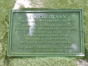 Christman memorial