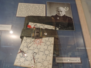Pres. John Q. Adams' fly box