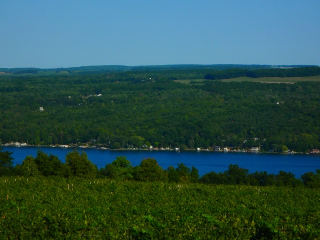 above Keuka Lake