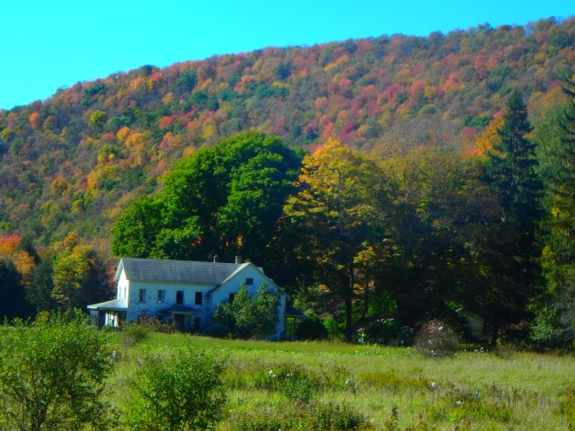old farm at Kettle Creek