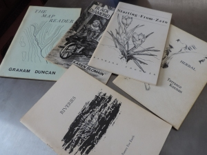 Upriver Chapbook Series plus Riveries anthology...